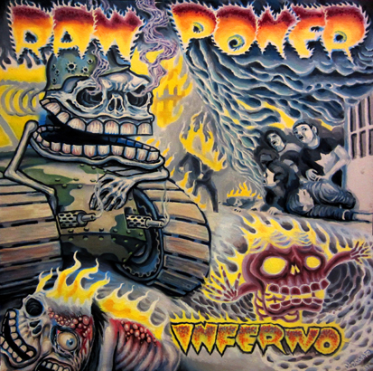 raw power light front cover