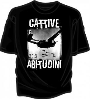 t shirt cattive abitudini